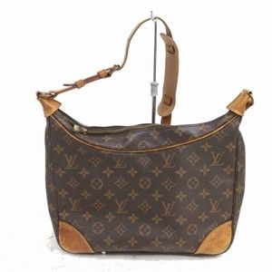 Auth Louis Vuitton Boulogne 30 Bag #1022L14